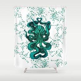 Octopus No. 2 Shower Curtain