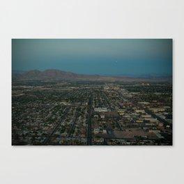 Vegas Sprawl Canvas Print