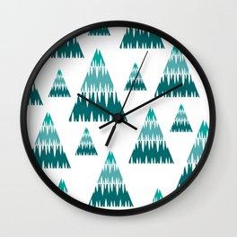 Accordian Christmas Wall Clock