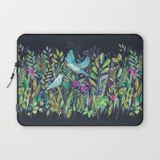 Little Garden Birds in Watercolor Laptop Sleeve
