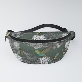 Hummingbirds and Bees (don't let them fade away) Fanny Pack