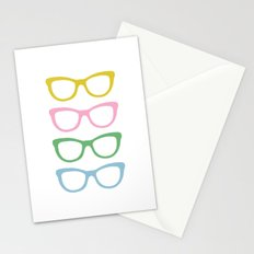 Glasses #4 Stationery Cards