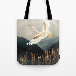 Elegant Flight Tote Bag