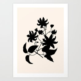 Lovely branch III Art Print