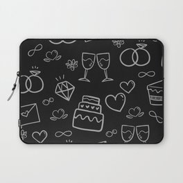 love and party Laptop Sleeve