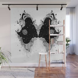 Through universe eyes Wall Mural