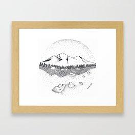 Katahdin Framed Art Print