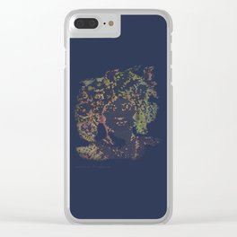 Electric Clear iPhone Case