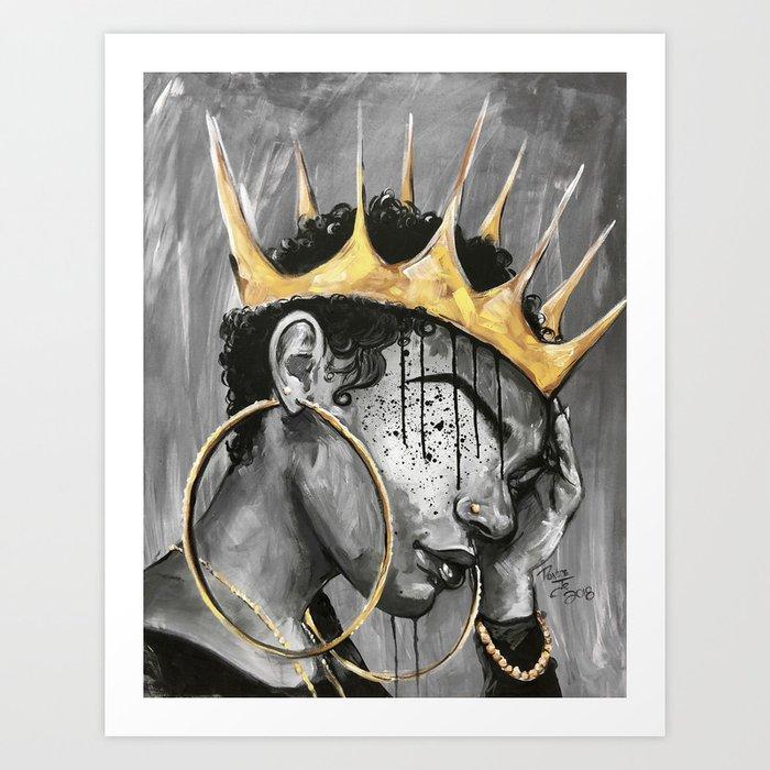 Naturally Queen X Kunstdrucke