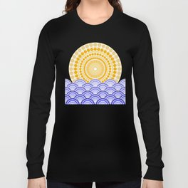 LIGHT OF DAWN (abstract tropical) Long Sleeve T-shirt
