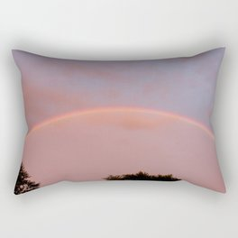 Rainbow Arc Rectangular Pillow