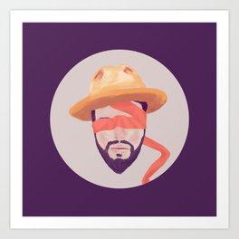 Voluntary Blindness Art Print