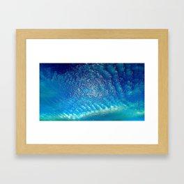 sea or sky? Framed Art Print