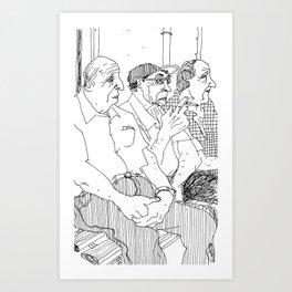 Waiting #3 Art Print