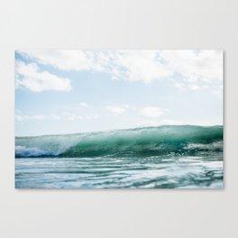 Wave Crash - Tropical Crash Canvas Print
