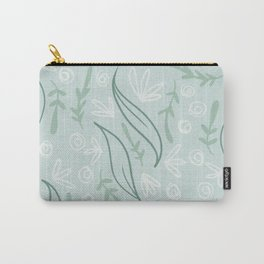 Winter leaves pattern design. Carry-All Pouch