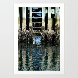 Waterline Novia Scotia Photo Art Print