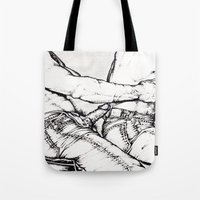 levi Tote Bags featuring Levi Lovin' by vooduude