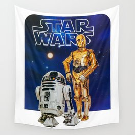 The Droids You're Looking For Wall Tapestry