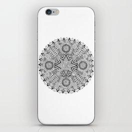 Mandala one iPhone Skin