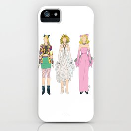 Triple Madge Material Girl iPhone Case