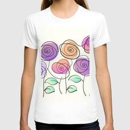 Half A Dozen Roses T-shirt