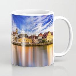 Panoramic Regensburg | Germany Coffee Mug