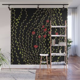 night flowers Wall Mural