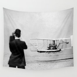 Wright Brothers Wall Tapestry