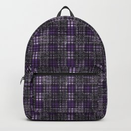 Classical cell in purple tones. Backpack