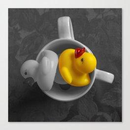 Rubber Duck Still Life III Canvas Print