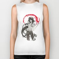 marceline Biker Tanks featuring Marceline by Mirlolo