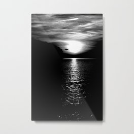 Mysterious sunset Metal Print