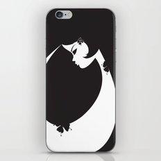 Girl in Black iPhone & iPod Skin