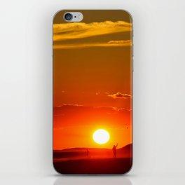 Glow iPhone Skin