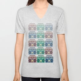 """""""I CAN'T LIVE WITHOUT MY RADIO"""" Unisex V-Neck"""