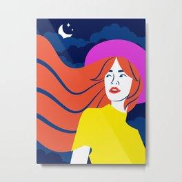 Erika Metal Print