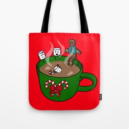 Relaxing Hot Cocoa Tote Bag
