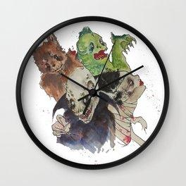 A Graveyard Smash Wall Clock