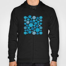 Blue Dots Hoody