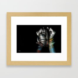 Stand By Me (Sexual Injustice Awareness) Framed Art Print