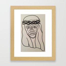 Jesus Piece Framed Art Print