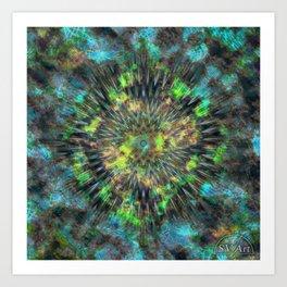 Outwards Art Print