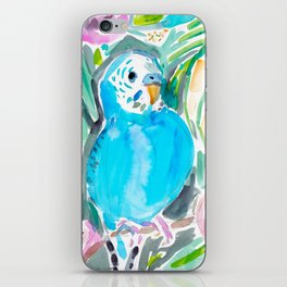 Chipper the Budgie iPhone Skin