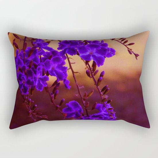 Chase away the blues Rectangular Pillow