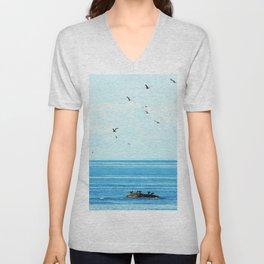 Birds of Summer Unisex V-Neck
