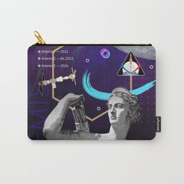 Ancient Gods and Planets: NASA Artemis program Carry-All Pouch