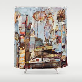 Step Lightly Shower Curtain