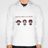 ahs Hoodies featuring AHS Hotel: Justin by Sunshunes