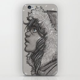 Ash and Snow iPhone Skin